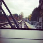 I'm driving the skytrain