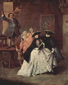 Pietro Longhi The Charlatan