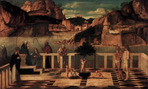 Sacred Allegory by Giovanni Bellini