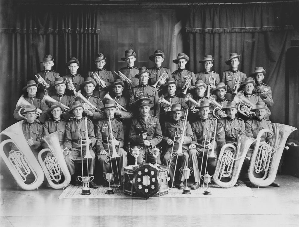 StateLibQld_1_151887_Unidentified_Army_brass_band,_Brisbane,_ca__1925