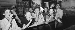 Scofflaw_Raceland_Louisiana_Beer_Drinkers_Russell_Lee