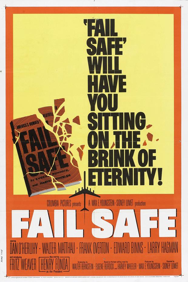 Fail-Safe 1964 poster